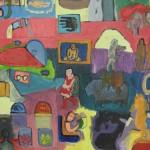 Detalle Retablo de sueños, 2000