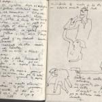 Cuaderno de sueños detalle