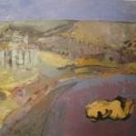 Figura en el paisaje gris, 1994