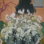 Paisaje con gran árbol florido, 1994