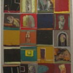 Retablo de figuras y espacios, 1995