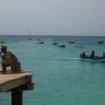 En mi viaje de novia de tesis a Cabo Verde el mar es turquesa